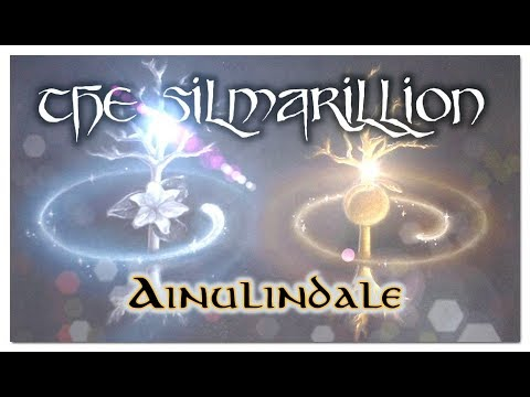 The Silmarillion - AINULINDALE (The making of Middle-Earth & Aman) (ASMR)