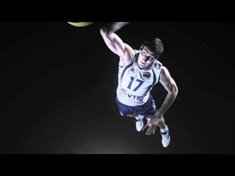 FIVB Heroes in Super Slow Motion -- Maxim Mikhaylov