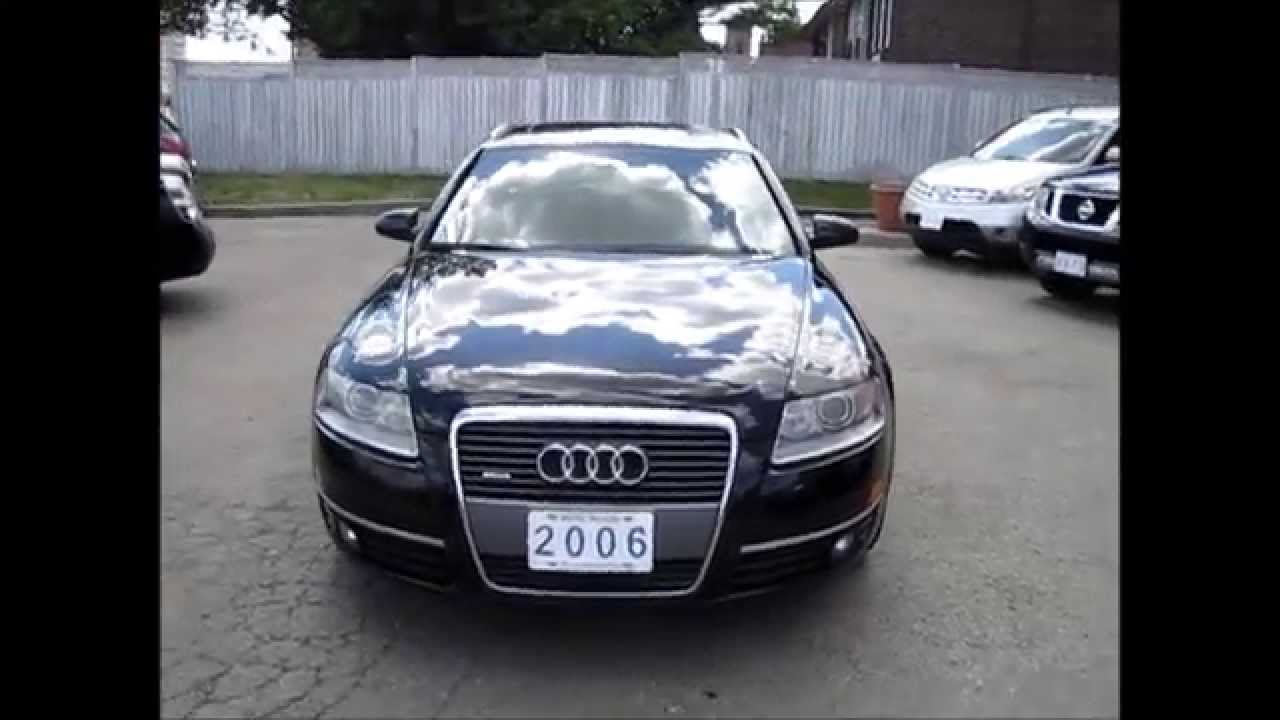 Sold  2006 Audi A6 Avant Wagon 32 Quattro For Sale Toronto, Ontario   Metro Motors
