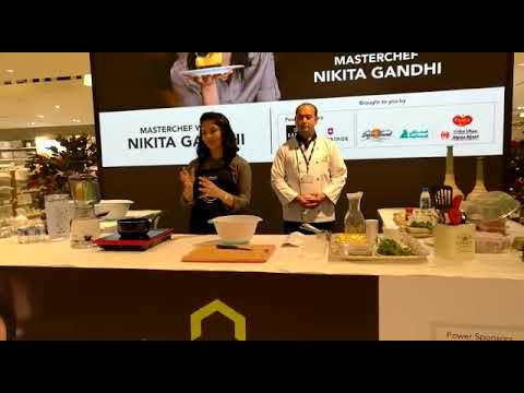 Master Chef Nikita Gandhi Home Centre, Bahrain City Center