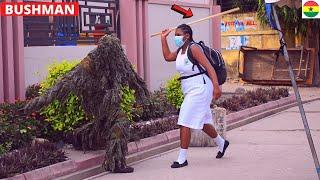 ???She Caned Bushman! Best Bushman Prank Reactions. Hilarious.