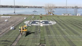 SUNY Maritime College Reinhart Field Turf Removal - 4/24-26