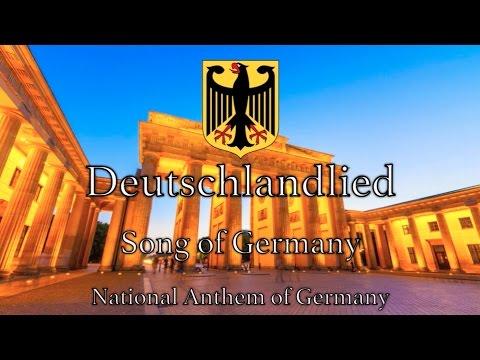 National Anthem: Germany - Deutschlandlied [NEW VERSION ...