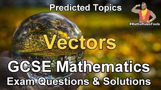 Vectors - GCSE Maths Exam Questions Compilation