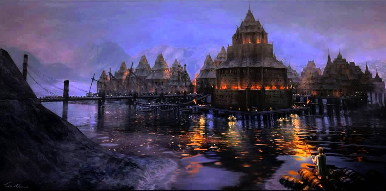 Esgaroth Theme Thrice Welcome  The Hobbit 2 Soundtrack