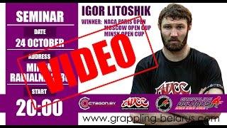 IGOR LITOSHIK GRAPPLING SEMINAR/SUBMISSION FIGHTING TECHNIQUES