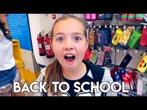 Kids Back to School Shopping Haul