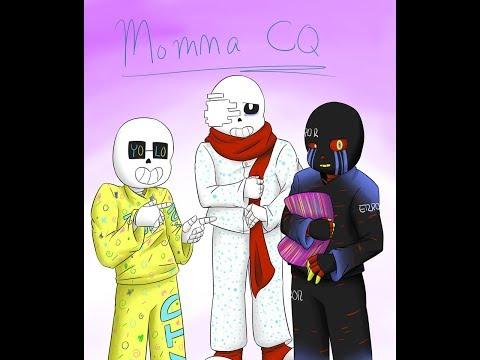 Momma CQ Комикс, Undertale- Первая Часть (Русская Озвучка)
