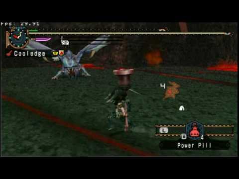 MHFU Fire Dragon Jewel - Sakura Recorder G