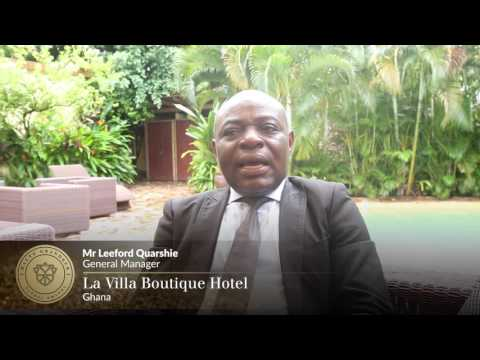 Haute Grandeur Member interview with La Villa Boutique Hotel, Ghana