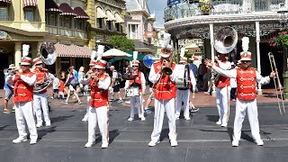 Main Street Philharmonic Performs &quotMickey Mouse Clubhouse&quot Theme Song at Magic Kingdom, Disney World