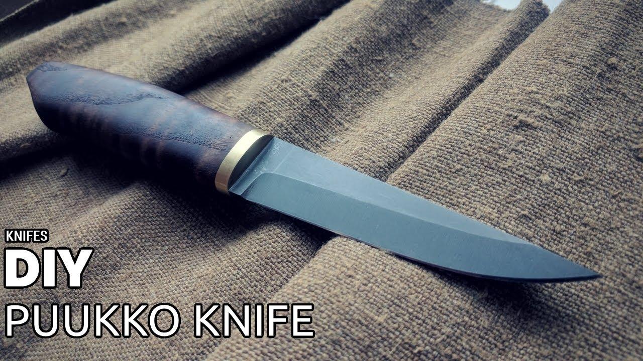 DIY puukko knife - YouTube
