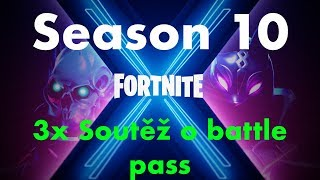 New season and competition for 3x Battle Pass! -Fortnite CZ/SK Stream