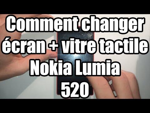 [TUTO] - Changer vitre + écran Nokia Lumia 520