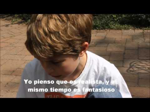 Niño de 9 años habla sobre el significado de la vida y el universo.
