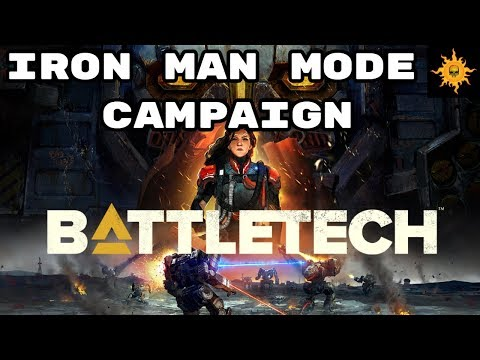 BattleTech Campaign - Iron Man Mode - Lets Play Episode 1