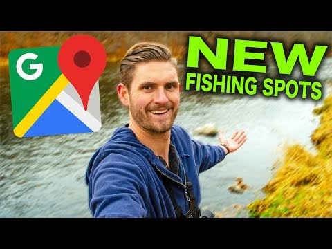Using Google Maps To Find New Fishing Spots!