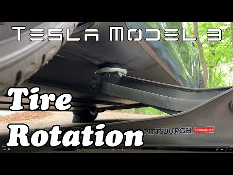 Tesla Model 3 - Tire Rotation