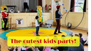 Children's Entertainer for Kids Party in Winchester - Lucas Jet - Bea's Big Top Birthday