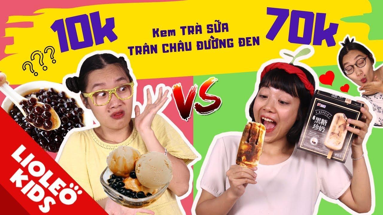 Kem trà sữa trân châu Đài Loan vs kem tự làm – Tấm Cám hoán đổi thân phận??? – TẤM CÁM ĐẠI CHIẾN