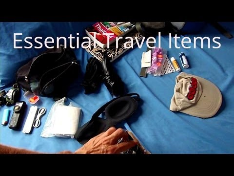 Budget Travel Tips: Essential Travel Gear & Items