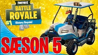 BILER I FORTNITE! [SÆSON 5] - Dansk Fortnite