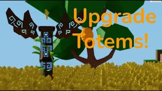 How To Upgrade Totems! Roblox Islands New Update!