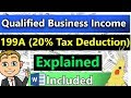 20% Business QBI Deduction Tax Rules Explained!  - Very Detailed