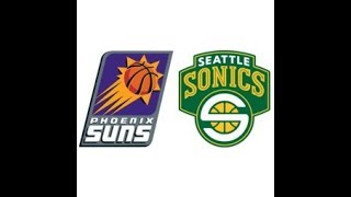 NBA 1997  R1 G4  Sonics vs. Suns