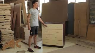 Обзор комода 3+2 от компании АС мебель