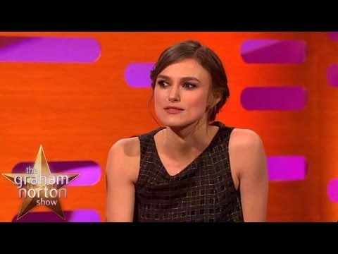 Keira Knightley Banned from Pouting on Set  The Graham Norton