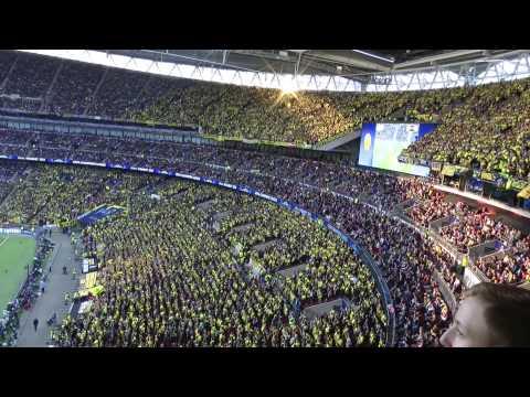 Wembley 2013  - Borussia Dortmund - Bayern München Finale Champions League