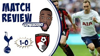 Tottenham hotspur vs bournemouth 1-0 match review | arsenal hold pepper at watford