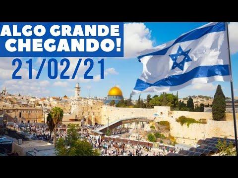 O FIM ESTÁ CHEGANDO! ALGO GRANDE! - ISRAEL VAI CLAMAR PELA VINDA DO MESSIAS