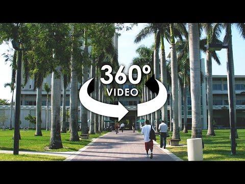 360° Tour of the University of Miami - ALLie 360 Camera