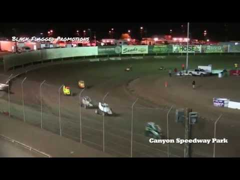 Canyon Speedway Park- Mini Sprint Main May 2nd 2015