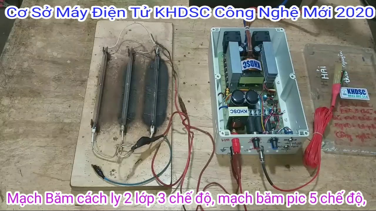 KHDSC Tees máy điện tử 12 fet công nghệ mới, ship đến anh (hải khách hàng ở thái nguyên.