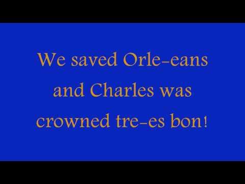 Horrible Histories - Joan of Arc Song + Lyrics HD