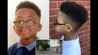 5-YEAR OLD BANNED FROM SCHOOL BECAUSE OF HAIRCUT
