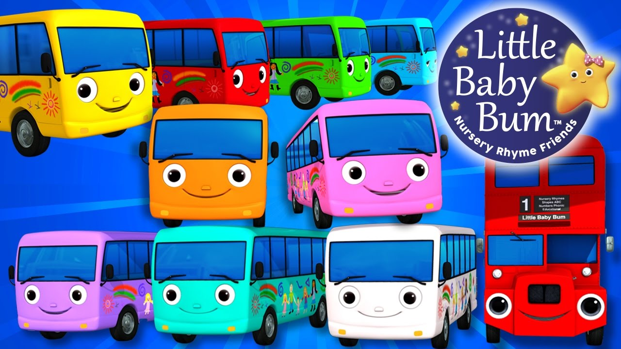 Image result for 10 little buses