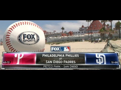 Philadelphia Phillies at San Diego Padres August 14, 2017 720p60