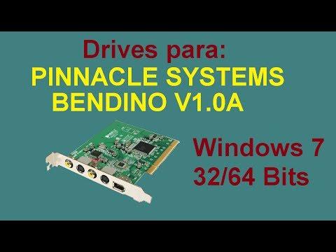 Drivers de tarjeta Pinnacle Bendino para Windows 7 de 32/64 Bits
