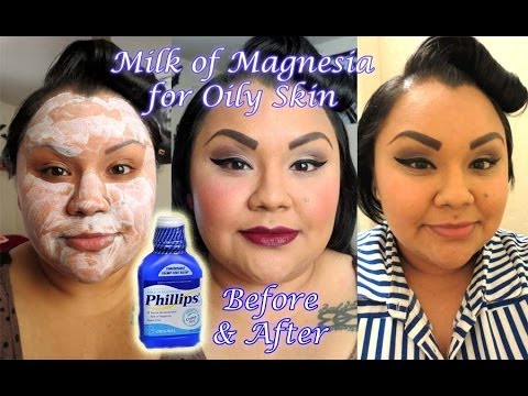 Is milk of magnesia safe for face