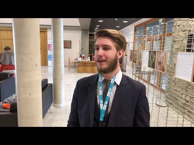 Antoine GILS - étudiant - membre du Conseil Départemental des Jeunes de l'Aude