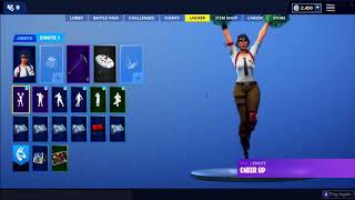 😱NEW! *CHEER UP* EMOTE! THE BEST EMOTE IN FORTNITE? NEW TEACHER SKIN!