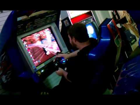 f zero ax deluxe arcade machine play youtube