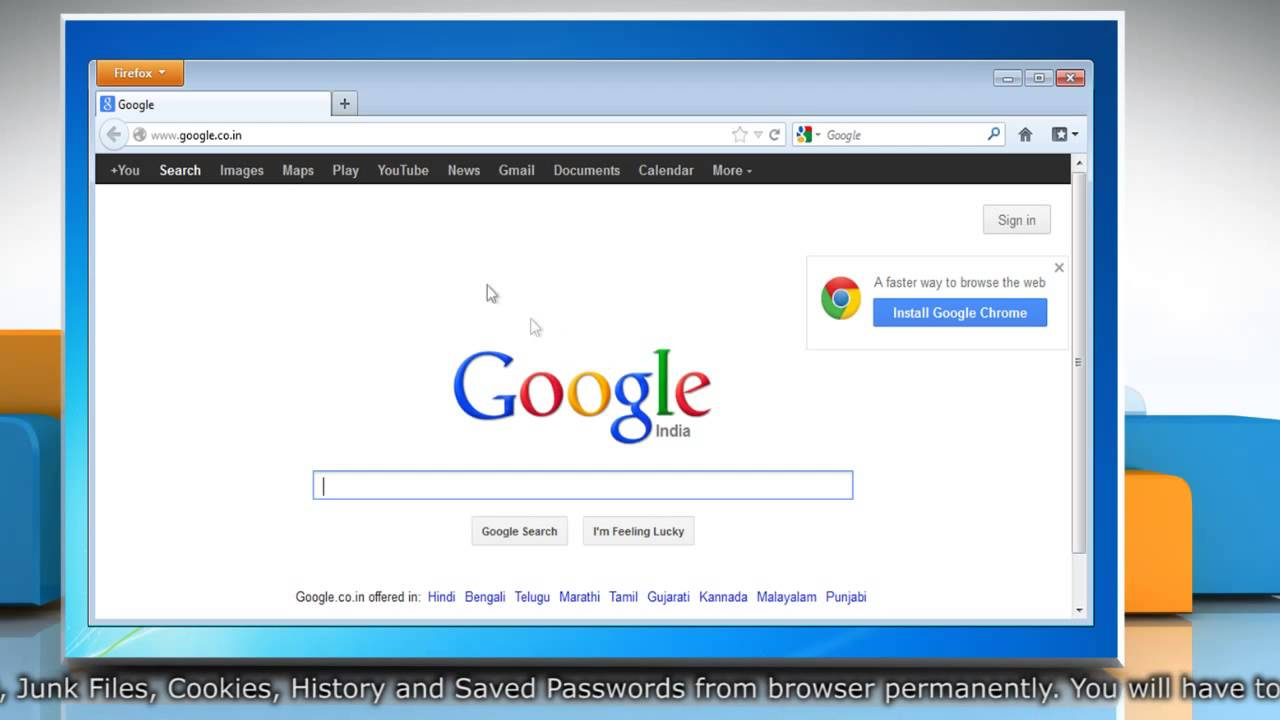 how to change user name and password for firefox