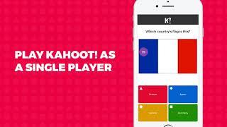 Kahoot! mobile app demo: make homework awesome!