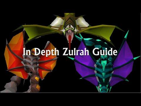 In Depth Zulrah Guide - Complete Breakdown of Boss -