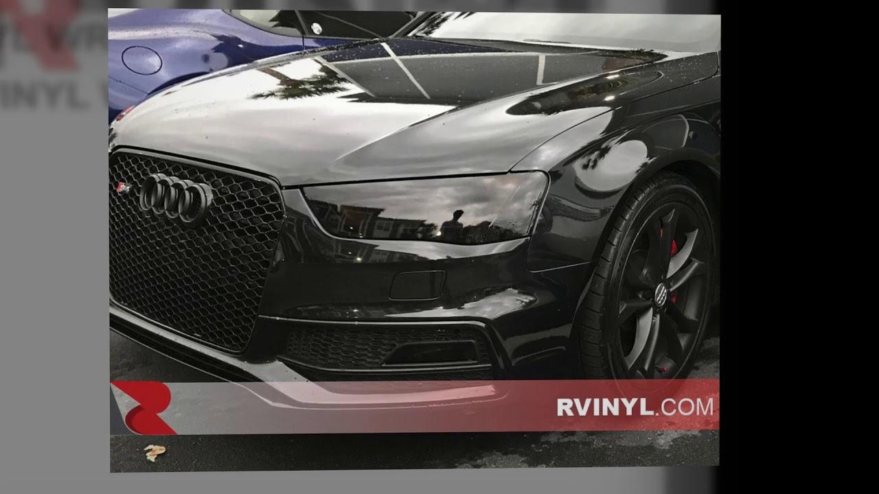 Rtint 2017 2016 Audi S4 Headlight Tint Covers